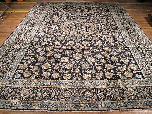 Persian Kashan Carpet 10 4 X 14 5 Fine Sil1292