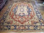 SIL1876 12X16 TURKISH OUSHAK RUG