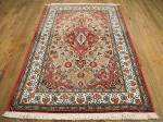 SIL1971 4X5 PERSIAN QUOM RUG