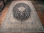 SIL333 10X17 OVERSIZE FINE PERSIAN NAIN RUG