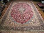 SIL2824 13X19 PERSIAN KERMAN RUG