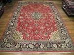 SIL2846 10X15 PERSIAN QUOM RUG