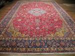 SIL2978 12X17 PERSIAN ISFAHAN OVERSIZE RUG