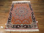 SIL397 3X5 FINE PERSIAN GONBAD ISFAHAN RUG