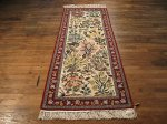 SIL410 3X7 FINE PERSIAN RUNNER ISFAHAN RUG