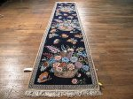SIL414 3X11 FINE PERSIAN RUNNER ISFAHAN RUG