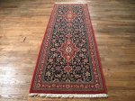 SIL427 3X8 FINE PERSIAN QUOM RUNNER RUG