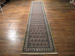 SIL429 3X13 FINE PERSIAN QUOM RUNNER RUG