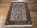 SIL477 3X4 FINE PERSIAN QUOM RUG
