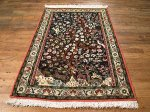 SIL487 3X4 FINE PERSIAN QUOM RUG