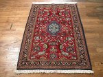 SIL513 3X4 FINE PERSIAN QUOM RUG
