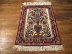SIL627 2X3 FINE PERSIAN SQUARE ISFAHAN RUG