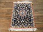 SIL656 3X3 FINE PERSIAN SQUARE ISFAHAN RUG