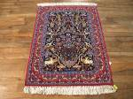 SIL663 2X3 FINE PERSIAN ISFAHAN RUG