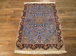 SIL677 2X4 FINE PERSIAN ISFAHAN RUG