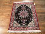 SIL685 3X3 FINE PERSIAN SQUARE ISFAHAN RUG