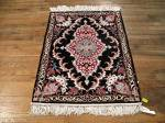 SIL688 3X3 FINE PERSIAN SQUARE ISFAHAN RUG