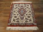 SIL691 3X3 FINE PERSIAN SQUARE ISFAHAN RUG