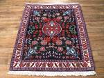SIL738 3X3 FINE PERSIAN SQUARE QUOM RUG