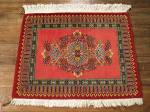 SIL740 3X3 FINE PERSIAN SQUARE QUOM RUG