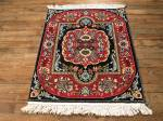 SIL746 2X3 FINE PERSIAN QUOM RUG
