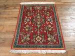 SIL750 2X3 FINE PERSIAN QUOM RUG