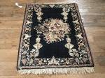 SIL826 2X3 ANTIQUE PERSIAN PICTORIAL NADER SHAH TABRIZ RUG