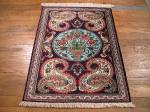 SIL919 2X3 PERSIAN QUOM RUG