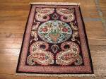 SIL920 2X3 PERSIAN QUOM RUG