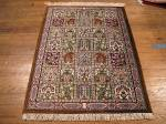 SIL925 2X3 PERSIAN QUOM RUG