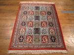 SIL935 2X3 PERSIAN QUOM RUG