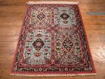 SIL936 2X3 PERSIAN QUOM RUG