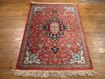 SIL939 2X3 PERSIAN QUOM RUG