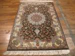 SIL945 3X4 PERSIAN QUOM RUG