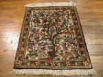 SIL1003 2X3 PERSIAN QUOM RUG