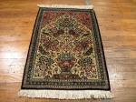 SIL1008 2X3 PERSIAN QUOM RUG