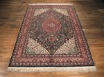 SIL185 6X9 FINE PURE SILK CHINESE RUG
