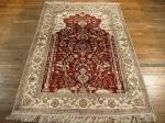 SIL1124 4X6 PURE SILK CHINESE RUG