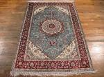 SIL1125 4X6 PURE SILK CHINESE RUG