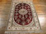 SIL1127 4X6 PURE SILK CHINESE RUG
