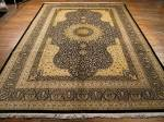 SIL1200 8X11 PERSIAN QUOM RUG