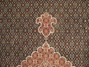 Persian Mahi Rug Tabriz Photo Of Sil105
